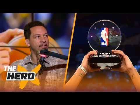 Chris Broussard reacts to NBA All-Star format changes, LeBron's future and more | THE HERD