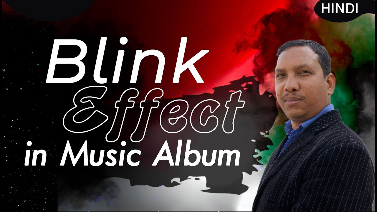 Music Album Blink Effect | How To Create & Use inSong Video Effects | Premiere CC Editing Tutorial