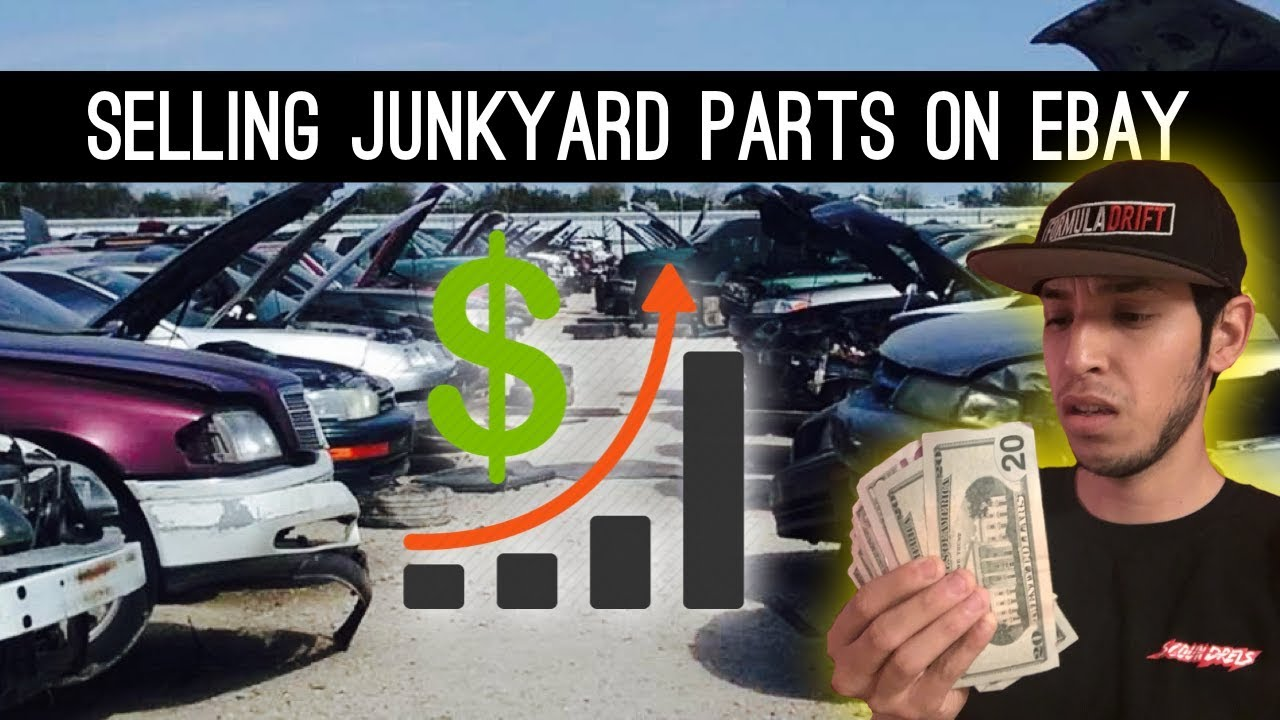 Day 1 Selling Junkyard Parts On eBay | The Idea and Setting Up