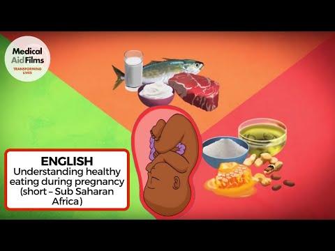 Understanding healthy eating during pregnancy (short – Sub Saharan Africa)