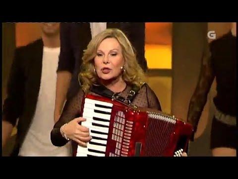 Maria Jesus Y Su Acordeon El Baile De Los Pajaritos Tv Youtube