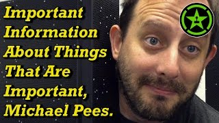 Important Information About Things That Are Important, Michael Pees.