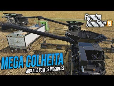 A MAIOR COLHEITA DE SOJA | Farming Simulator 19