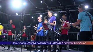 Yvelines | Une fête de la musique pluvieuse mais heureuse à Voisins-le-Bretonneux