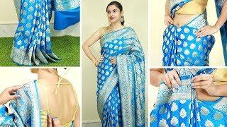 ৫ মিনিটে ভারী শাড়ি পরার অসাধারন পদ্ধতি যাতে খুব লম্বা ও সুন্দর দেখাবে । Wear Heavy Saree Perfectly