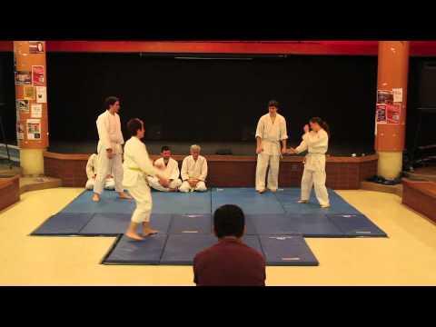 University of Ottawa Aikido Club Demonstration - March 2013
