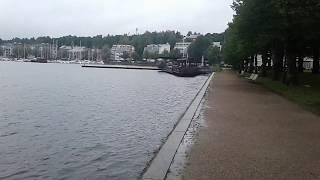 Набережная  Лаппенранты (Lappeenranta). Финляндия