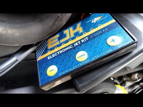 Yamaha MT-03 EJK installation (Electronic Jet Kit) dynorun