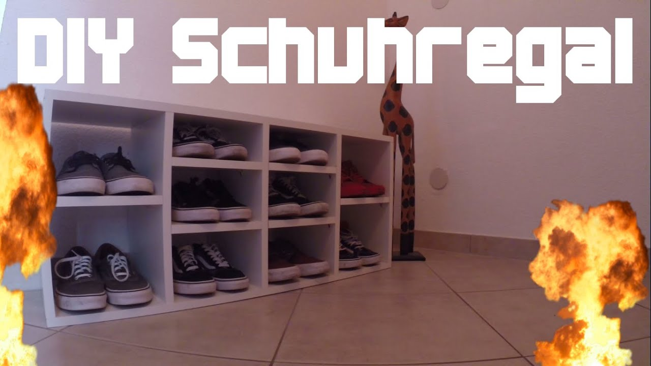 diy schuhregal update zum umzug youtube. Black Bedroom Furniture Sets. Home Design Ideas