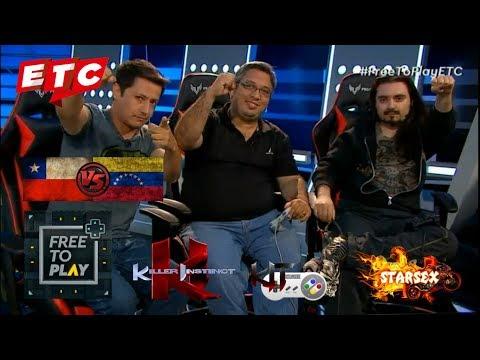 "ETC TV ""Free to Play"" - Desafío Killer Instinct SNES! - STARSEX (Chile) vs RZP (Venezuela)"