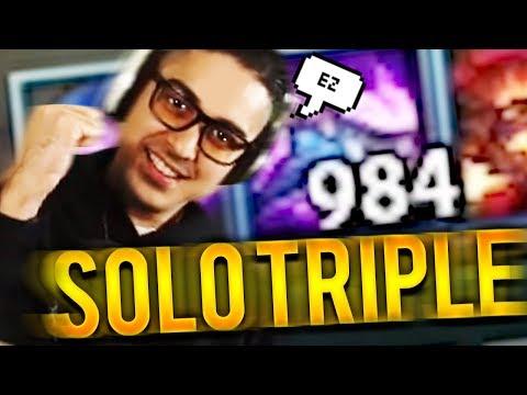 SOLO TRIPLE KILL WITH 1K STACKS NASUS!!! - Trick2G