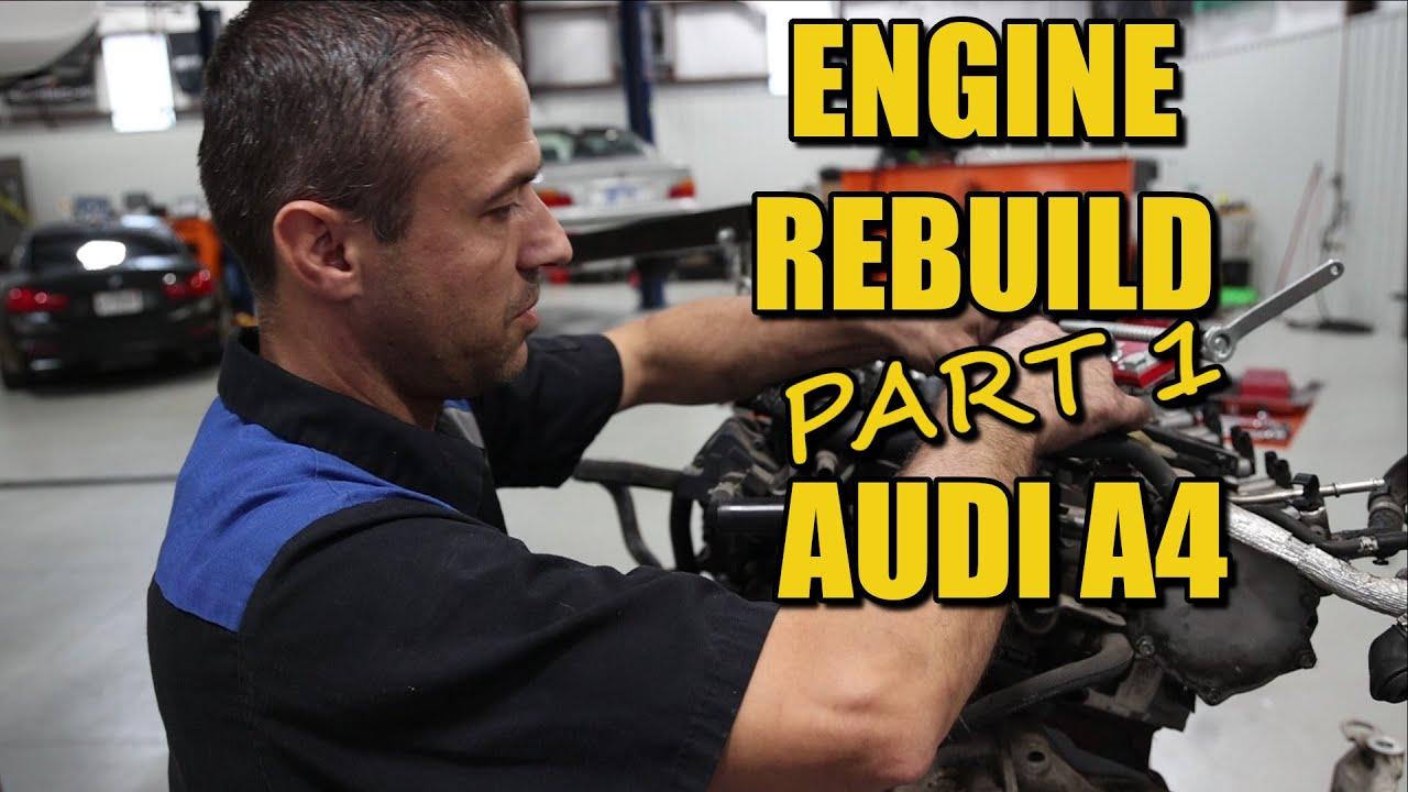 Download Car Ninja! ENGINE REBUILD Audi A4 PART 1