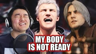 GAME LOOKS SO GOOD! - Devil May Cry V - Dante Gameplay Trailer - Reaction/Discussion