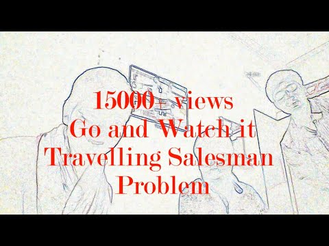 Travelling salesman problem in HINDI
