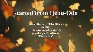 Oriki Orile My Hometown Imota.