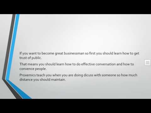 Proxemics in business
