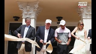 President Trump Honors Tiger Woods With Presidential Award | USA Today Sports