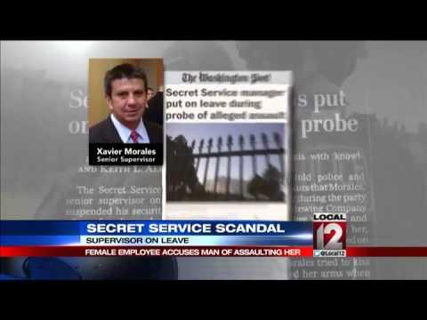"""Very disturbing"" charges vs. Secret Service supervisor"