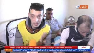 الباتنيون يتضامنون مع الحارس محمد عبد السلام