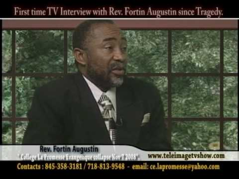 INTERVIEW WITH FOUNDER PASTOR FORTIN AUGUSTIN PART # 9