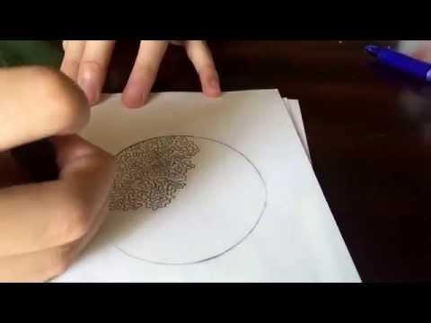 UFA/FFH Flowerhorn Drawing Contest (My Entry)