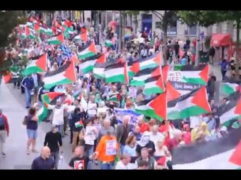 FREE FREE PALESTINE!!! DUBLIN, IRELAND.