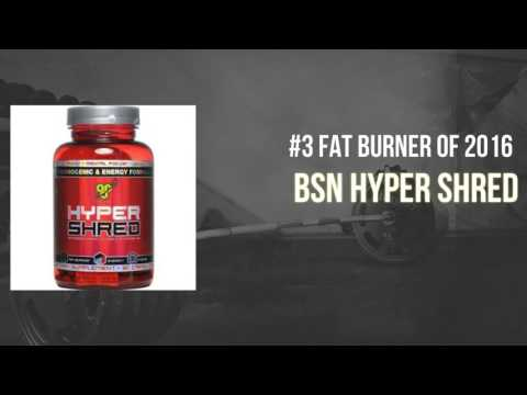 Top 5 Best Fat Burners of 2016 - For Men & Women