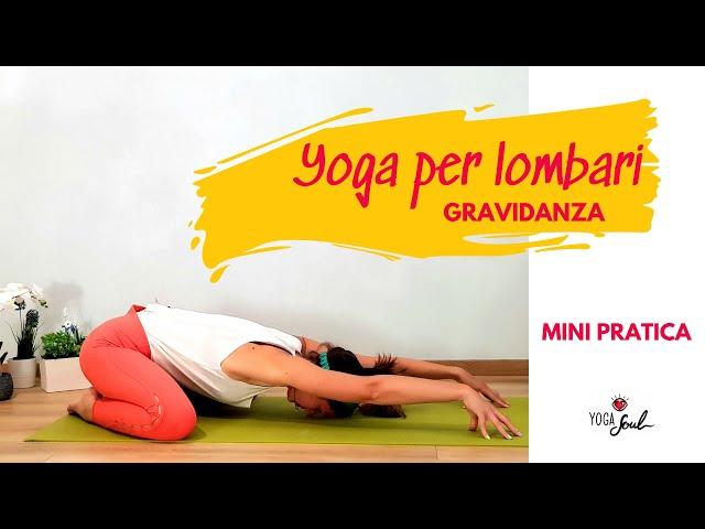Yoga per la schiena: lombari in Gravidanza