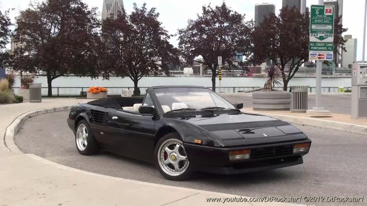 ferrari mondial 3 2 tubi exhaust great sound doovi. Black Bedroom Furniture Sets. Home Design Ideas