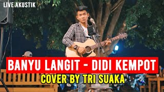 Download Mp3 Banyu Langit - Didi Kempot  Lirik  Live Akustik Cover By Tri Suaka - Pendopo Law
