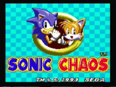Sonic Chaos Level Select Youtube