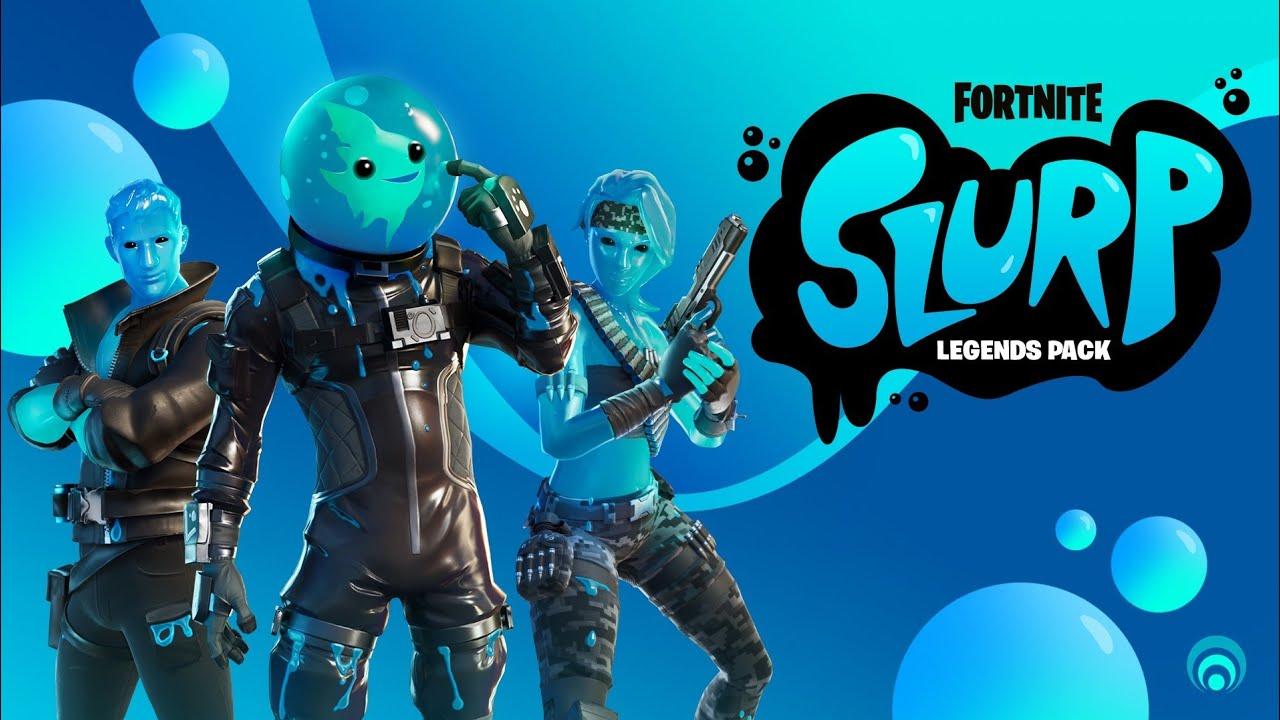 *NEW* Slurp Legends Pack + in-Game Showcase!
