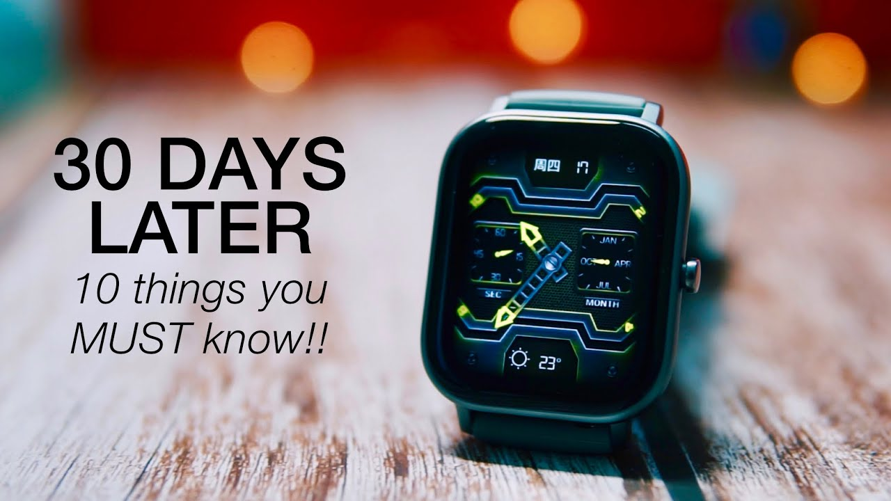 Amazfit GTS: 30 Days Review & 10 Things You MUST Know