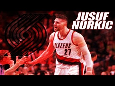 Jusuf Nurkic Portland Trail blazers Highlights || 2017 NBA Full Season || ᴴᴰ