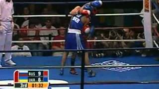 vasyl lomachenko vs albert selimov world boxing championships chicago 2007 final 57 kg