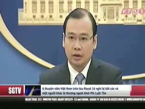 Tin Việt Nam, đài Saigon Television ngày 11/11/2016.