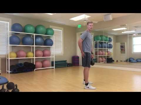 Golf core workout for faster club head speed