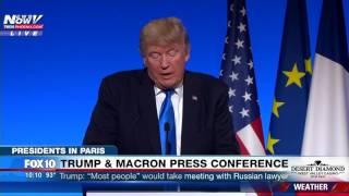 PARIS LOVE: President Trump PRAISES The Beauty Of Paris (FNN)