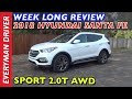 Here's the 2018 Hyundai Santa Fe Sport AWD Review on Everyman Driver