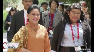 Gambar cover Tampil Berbeda, Iriana Jokowi Berbusana Nasional di KTT G20