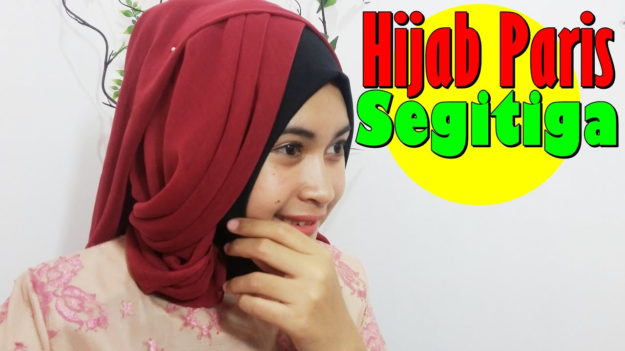 Tutorial Hijab Paris Segitiga Terbaru By Nica 189 YouTube