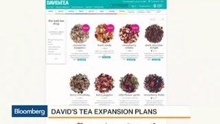 DavidsTea's Begins U.S. Expansion With IPO