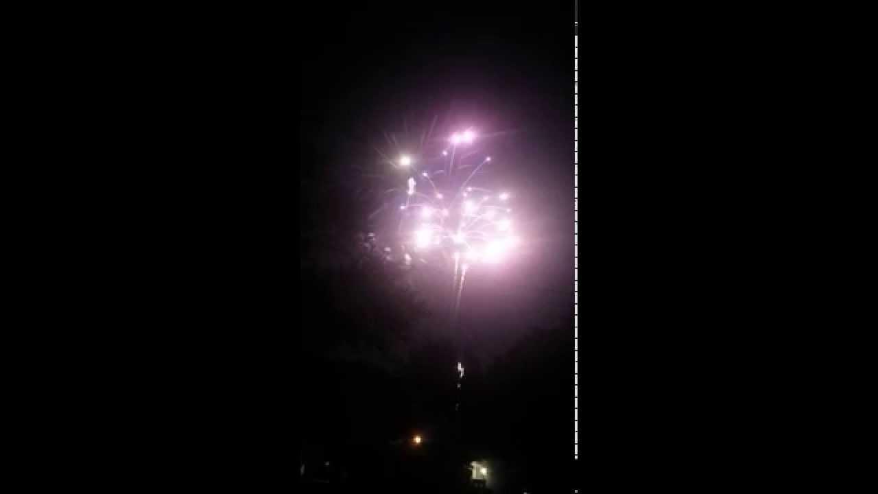 2015 Urbandale Iowa fireworks display