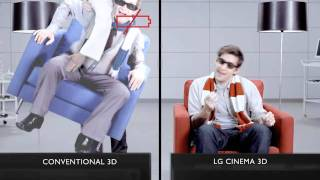 LG CINEMA 3D Smart TV vs Conventional 3D #9