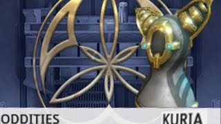 Warframe Oddity Kuria 6-3 (They had the same poise) Oddities