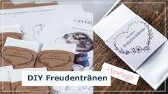 DIY Freudentränen Taschentücher inkl. Druckvorlage