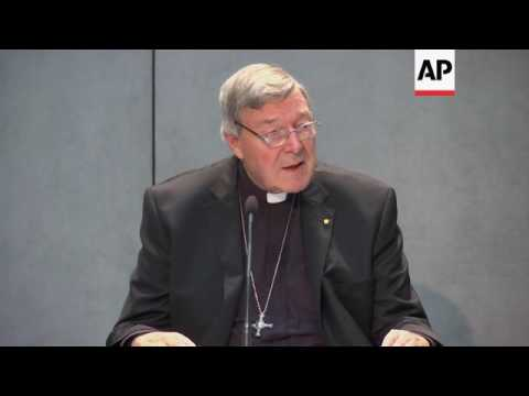 Cardinal Pell pleads innocent to sex assault charges