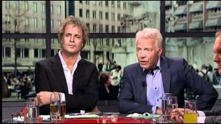 Pauw & Witteman 22-09-2011 met de Damschreeuwer David