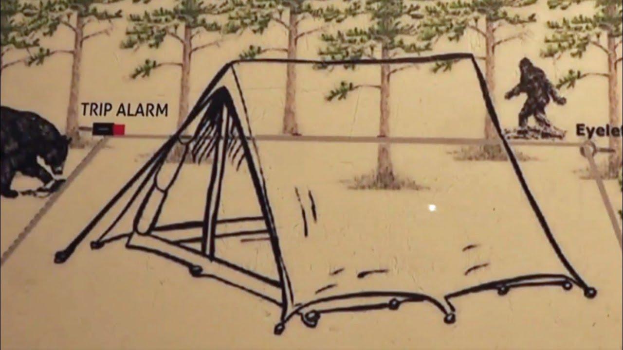 Download Setting camp perimeter alarms!