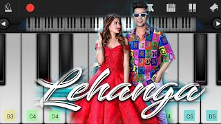 Lehenga (Jass Manak) Piano Cover | Easy Mobile Piano Tutorial | Jarzee Entertainment